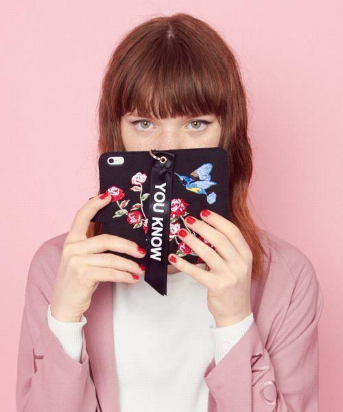 スカガウンiPhoneケースiPhone6(モバイルケース/カバー)|jouetie(ジュエティ)のファッション通販 - ZOZOTOWN