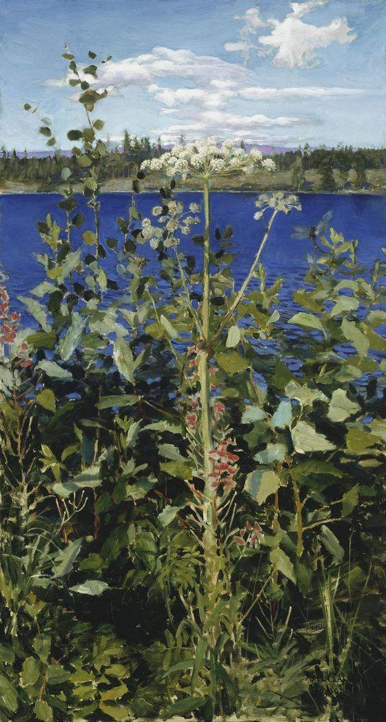 Akseli Gallen-Kallela: Karhunputki (1889)