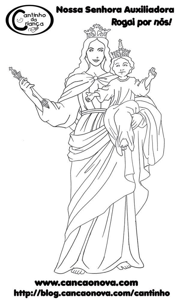 Nossa Senhora Auxiliadora   Pais e Catequistas