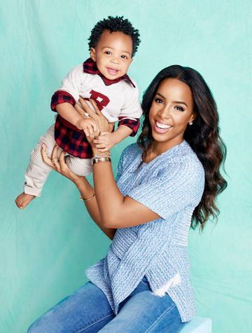 Kelly Rowland & Baby Titan Melt Our Hearts On Parents Magazine Cover