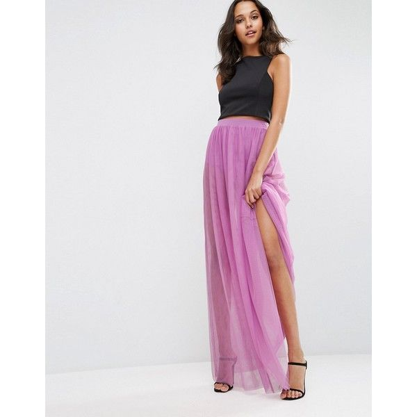 Short Maxi Skirt
