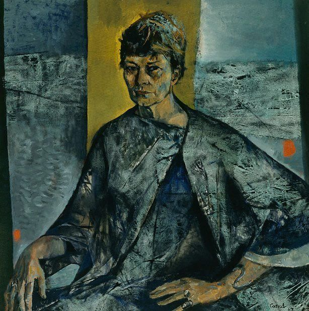 Archibald Prize winner 1967: Margo Lewers by Judy Cassab.