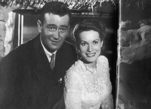 The Quiet Man, 1952. In 1944 Ford had handshake contracts with Maureen O'Hara , Duke and other members of his Stock Company such as Victor McLaglen, Ward Bond, Mildred Natwick and Arthur Shields. They met on Ford's yacht The Araner and O'Hara herself...