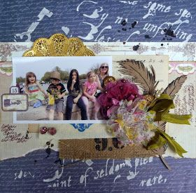 Dt member Dana created its beautiful page with Zeus and Zoe products