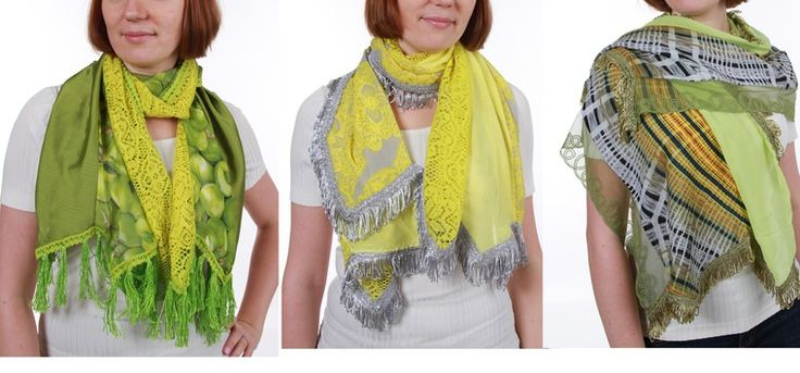 Акция на зеленые шарфы и палантины! - Ярмарка Мастеров - ручная работа, handmade