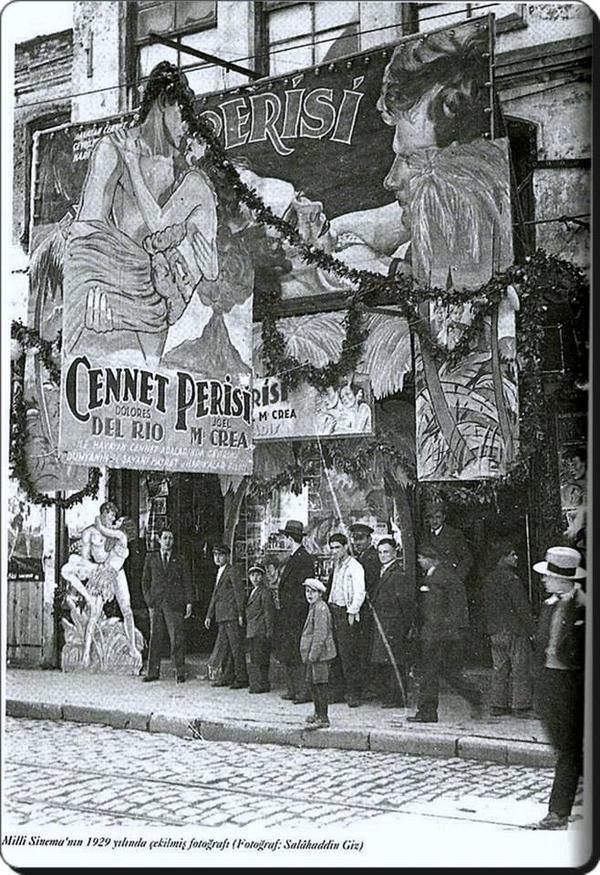 """Cennet Perisi"" sinemalarda  (1929)"