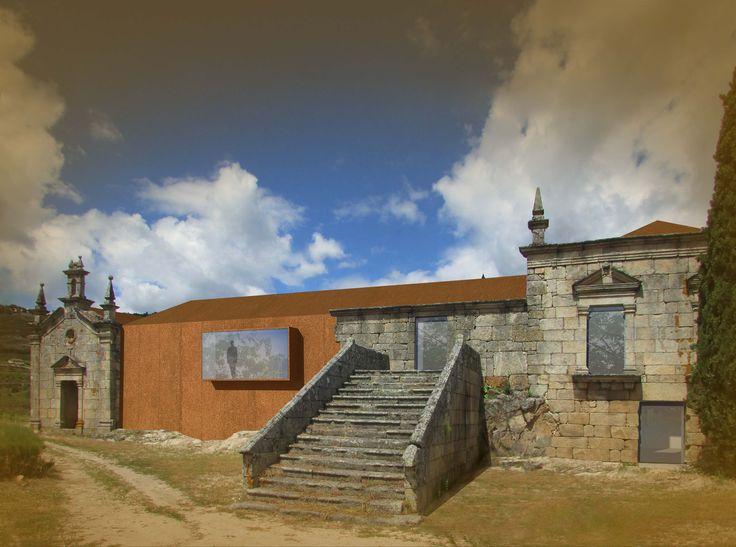Ruin rehabilitation, Quinta de Covela, Baião, Portugal. Pedro Alarcão