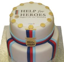 Help for Heroes Cake | #H4H #colossalcakesale