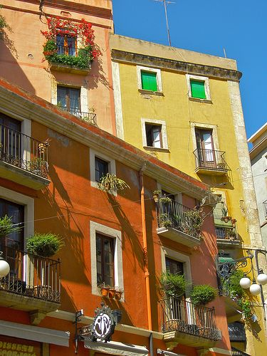 Colorful Tarragona, Catalunya, SpainColors Orange, Catalunya Catalonia, Travel Spain Portugal, Colorfull Tarragona, Catalonia Catalunya, Catalonia Spain, Colors Tarragona, Places, Baixada