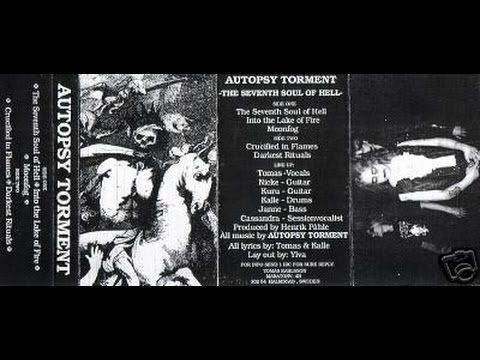 AUTOPSY TORMENT - The Seventh Soul of Hell ◾ (demo 1992, Swedish death metal)