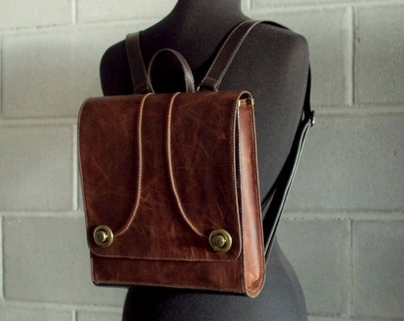 Tan brown backpack  the Raya purse  Free Shipping by Rimanchik, $260.00