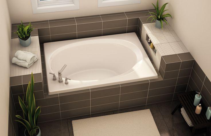 25+ Best Ideas About Built In Bathtub On Pinterest