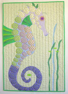 Sea Quilts: ~ More Painting with Fabric ~