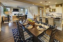 Enjoy the spacious great room of the Savannah plan at East Garrison. Beautiful new homes in Monterey County.