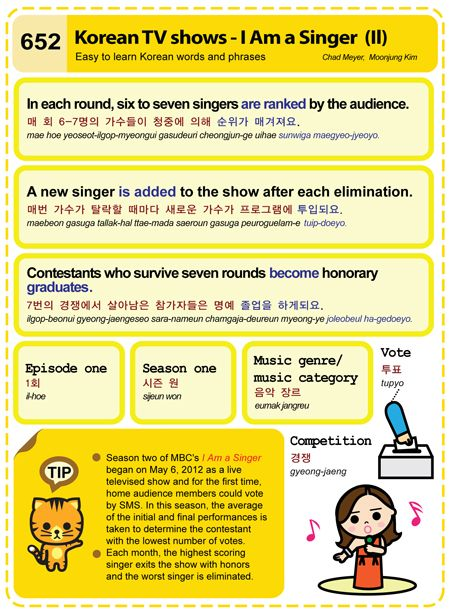(652) Korean TV shows - I Am a Singer (II)