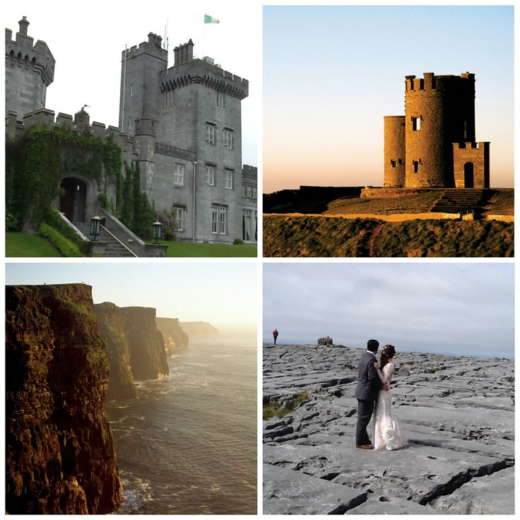 Amazing locations for your wedding in Ireland.