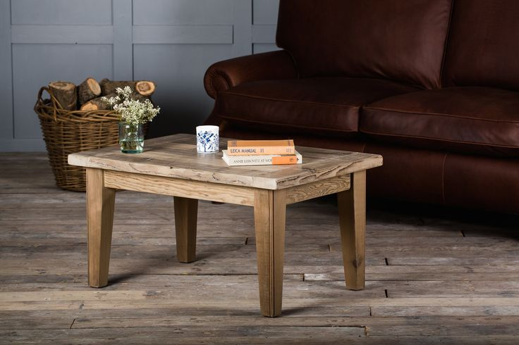 The Grand Bakers Coffee Table Embraces Natural Quality Of Wonderfully Aged Reclaimed Timbers