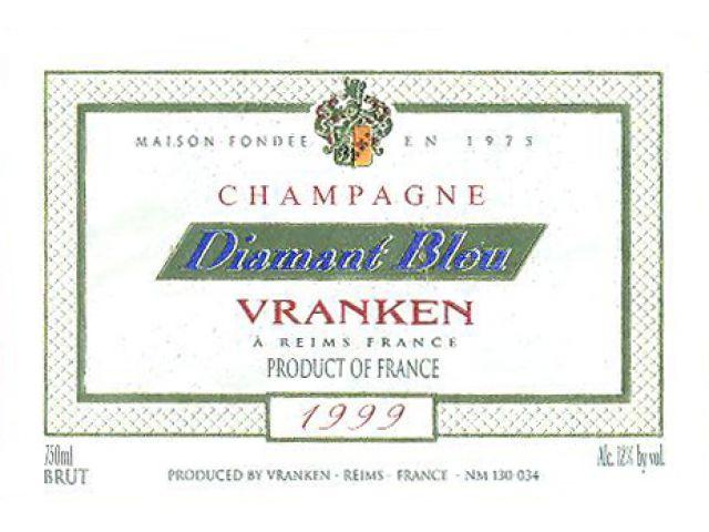 Vranken Diamant Bleu Champagne