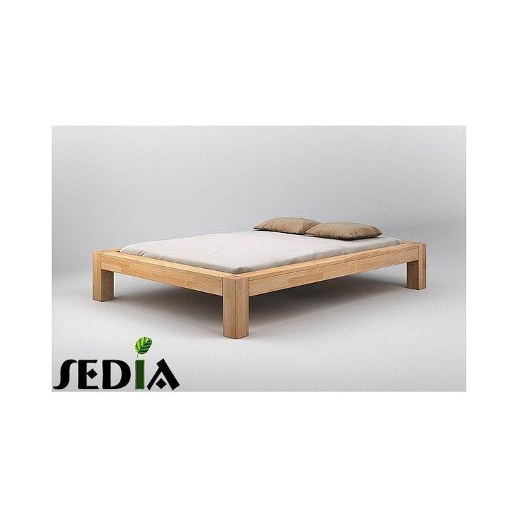 Łoże drewniane do sypialni - Baryt