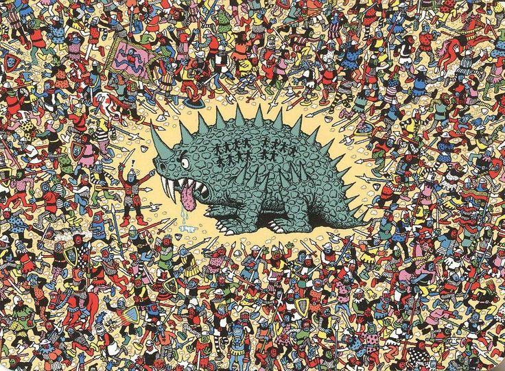 Where's Waldo Background | where's waldo wallpaper for bedroom