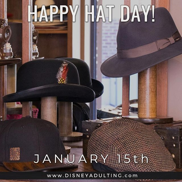 Happy National Hat Day Show Us Your Favorite Disney Hat Disney Hats Hat Day Hats