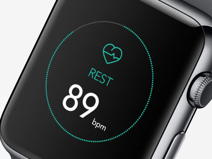 Fitness App iWatch [WIP] by Ramotion