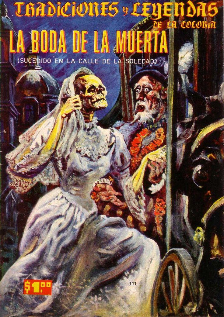 En México hay muchas leyendas populares sobre fantasmas y espantos que datan del período virreinal.