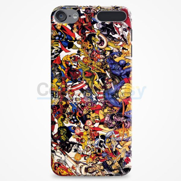 The Avengers Characters Art iPod Touch 6 Case | casefantasy