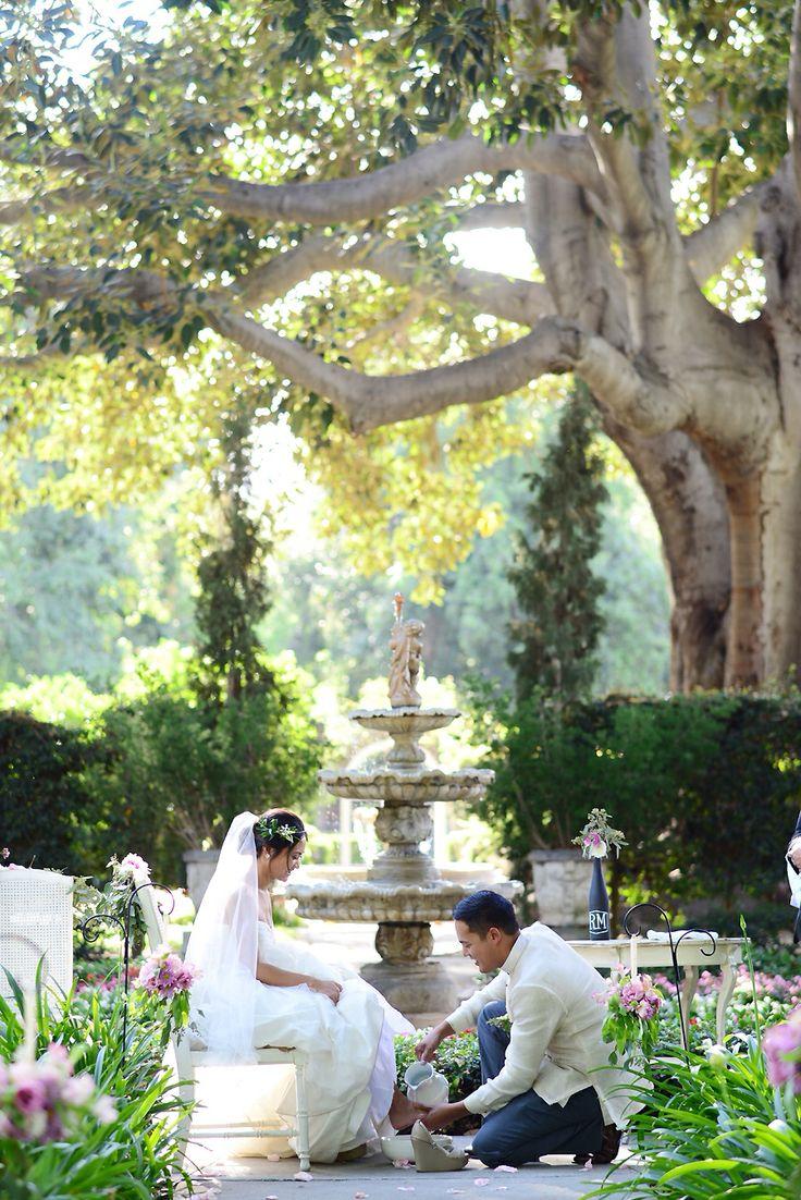 Washing Of The Feet Heritage Park Santa Fe Springs Ca Wedding Dress White By Vera