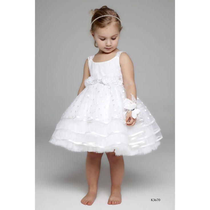 λευκο φορεμα για μικρα κοριτσακια!
