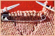 gants sur 2 aiguilles Gants et Moufles à confectionner