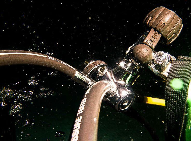 Détendeur de plongée sous-marine.