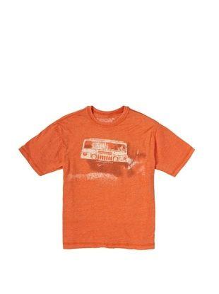 64% OFF Alpha Industries Boy's Hum Tee (Orange)