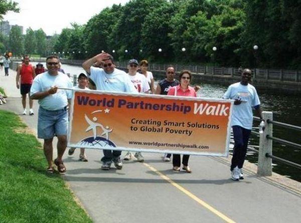 From the OBJ: World Partnership Walk in Ottawa along the Rideau Canal.