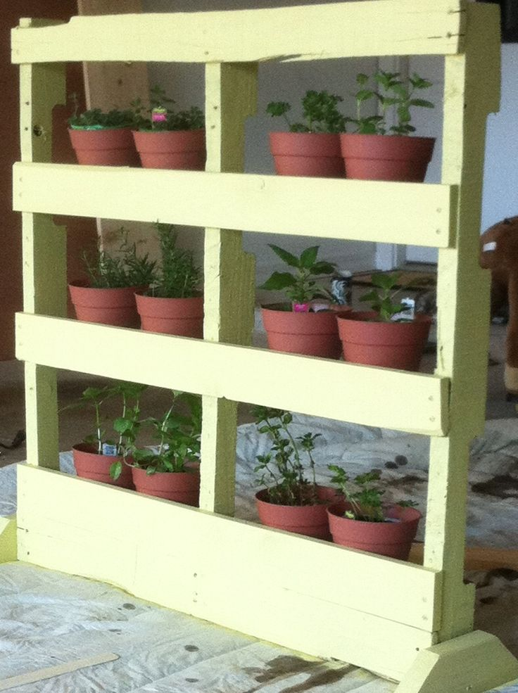 how to make an herb garden from a pallet page 2 of 2