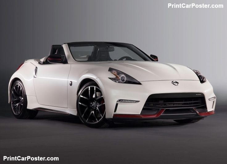 Nissan 370Z Nismo Roadster Concept 2015 poster, #poster, #mousepad, #tshirt, #printcarposter