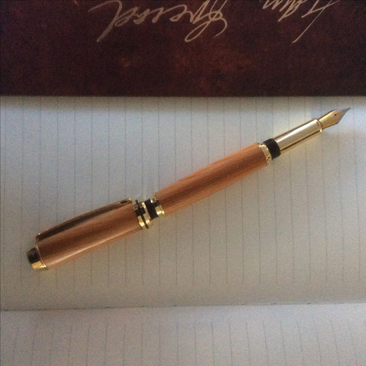 "Fountain Pen handcrafted by Joe at ""All things Handcraft"", Pebblewood Ireland"