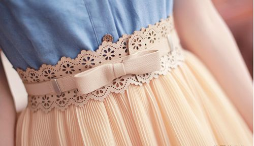 Lace High Waisted Skirt