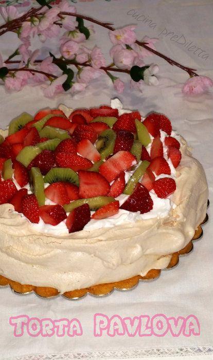 Torta Pavlova, ricetta, cucina preDiletta