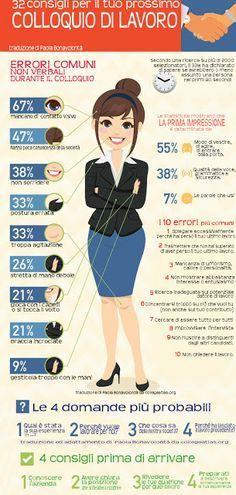 Tanti consigli pratici per il colloquio di lavoro