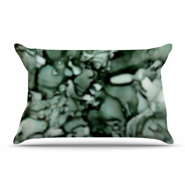 "Claire Day ""Grey"" Neutral Pillow Case"