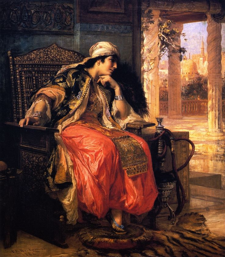 The Athenaeum - The Favorite (Frederick Arthur Bridgman - 1882)