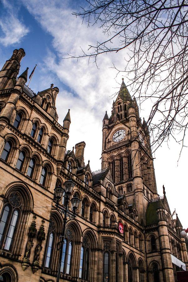Manchester clock, England, UK