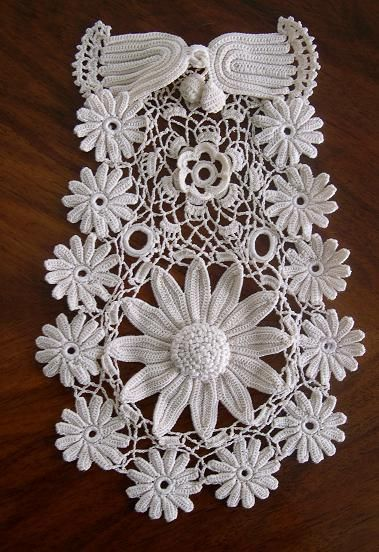 Irish lace crochet