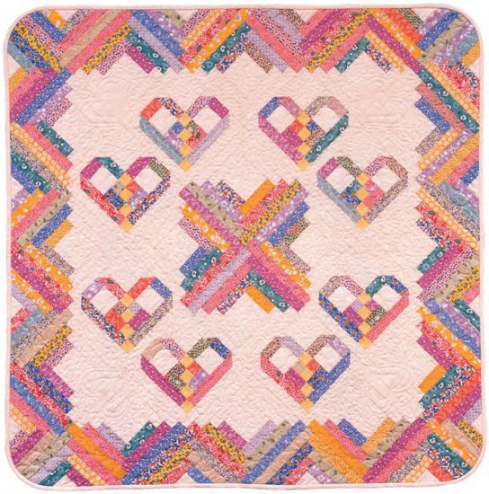 Heartstrings Quilt Very Cute Free Pattern I Have The Book