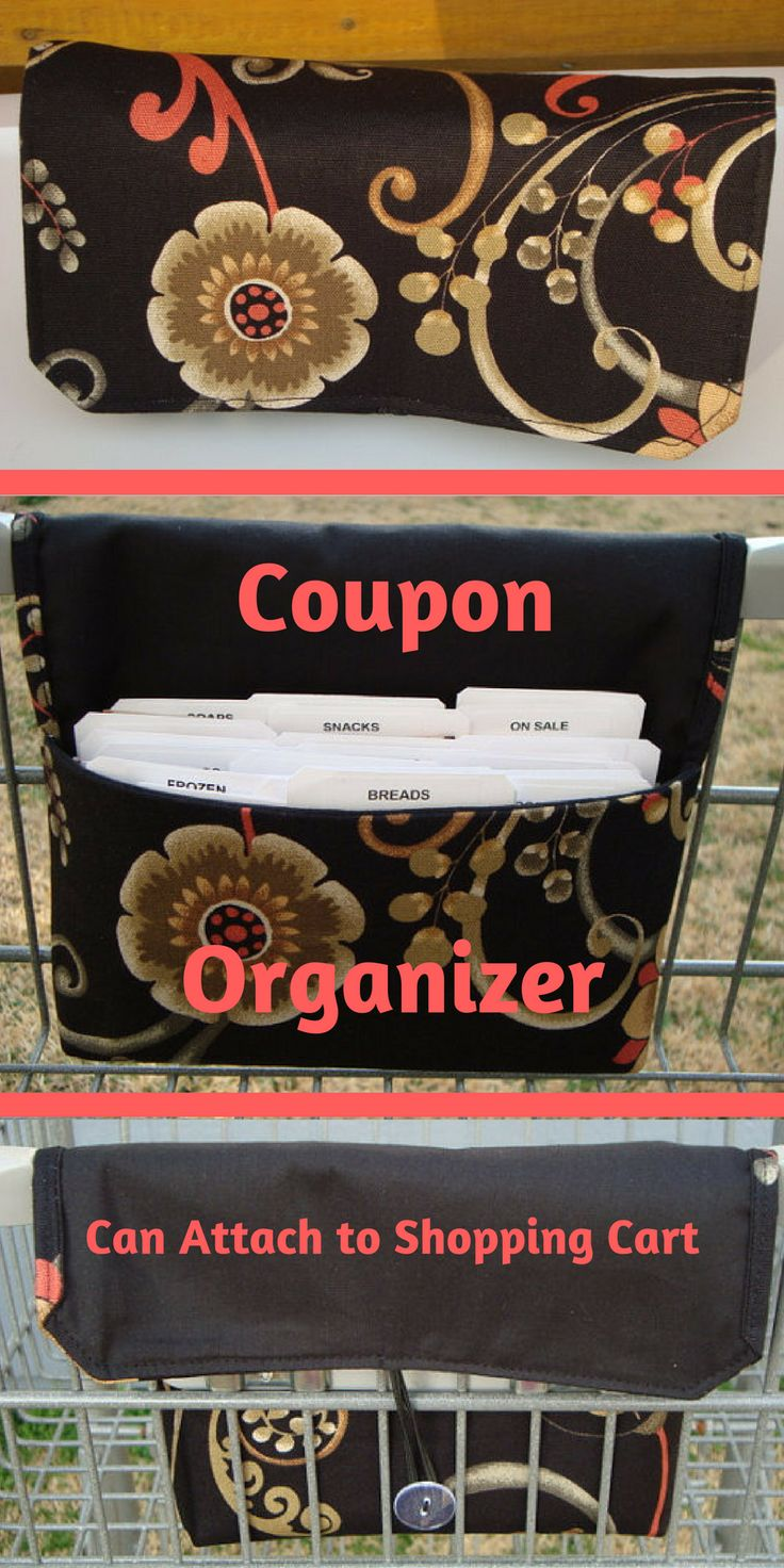 Using coupons is the easiest way to save a huge amount of money on your grocery bill. Organizing your coupons can be confusing and remembering were you put them when you need them can be frustrating. This organizer is designed to where you can come up with your own system to manage your coupons your way. It is an invaluable aide for people that shops with coupons or wants to start using coupons.  #ad  #budget  #coupons  #etsy
