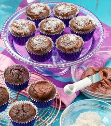 Cadbury Choc Coconut Muffins Recipe