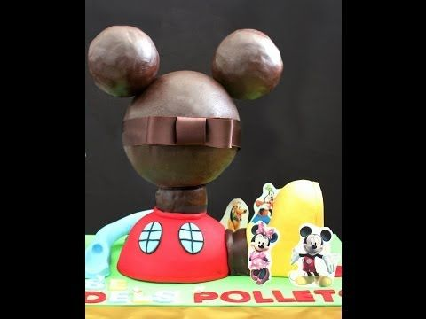 176 best images about tutorials cakes step by step cakes - Youtube casa mickey mouse ...