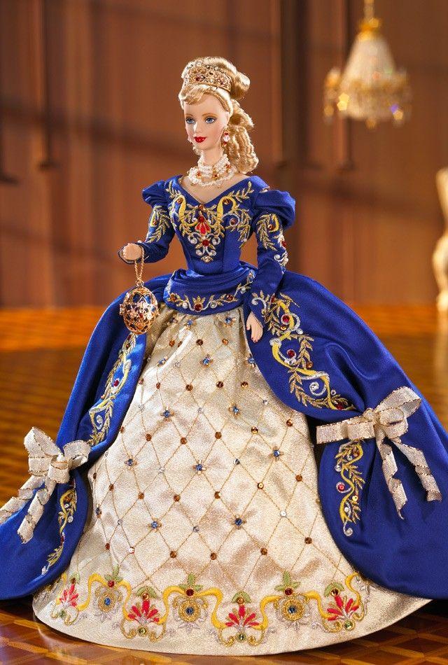 Get regal with the Fabergé Porcelain Barbie Collection. Fabergé™ Imperial Elegance™ Barbie® Doll.