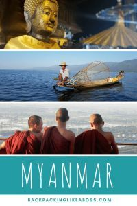 3 Weeks in Myanmar - an Amazing country! Looking to spend 3 weeks in Myanmar? Then make sure to check out this blog for a great itinerary, pictures and inspiration - Myanmar is an amazing country! Includes Kalaw and elephant sanctuary, Inle lake, visiting Bagan and 4000+ temples, cycling in Mandalay, travelling along Gokteik Viaduct, visiting Yangon | #myanmar #yangon #mandalay #southeastasaia #travel